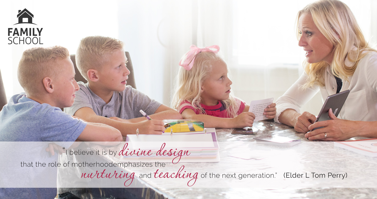 K-12 LDS homeschooling for busy moms with active children!